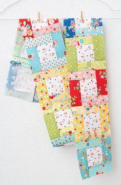 Der zweite Block des 6 Köpfe 12 Blöcke - Quilt Alongs ist der Bright Hopes Quilt Block. In diesem Tutorial zeige ich dir, wie du ihn herstellst! Layer Cake Quilt Patterns, Scrappy Quilt Patterns, Scrappy Quilts, Mini Quilts, Strip Quilts, Patch Quilt, Quilt Blocks, Quilting Tutorials, Quilting Projects