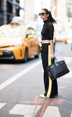 Sara Sampaio from Street Style at New York Fashion Week Spring 2017  If you're…