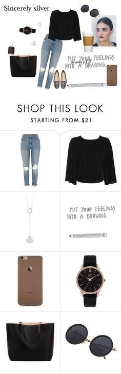 """mettez vos sentiment dans un dessin"" by lareine-mina on Polyvore featuring mode, Topshop, INC International Concepts, Zara et Essie"