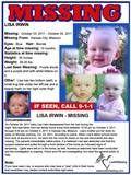 Lisa Irwin -  Missing Poster - MO