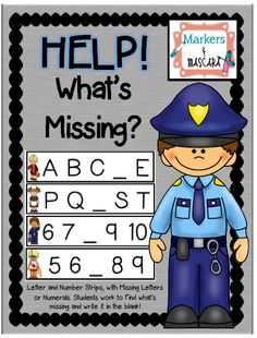 What's Missing? Help the Community Helper Find the Missing Number/Letter. Community Helpers Worksheets, Community Helpers Kindergarten, Kindergarten Social Studies, School Community, Kindergarten Activities, Learning Activities, Kids Learning, Art Activities For Toddlers, Space Activities