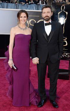 Jennifer Garner and Ben Affleck Oscars 2013
