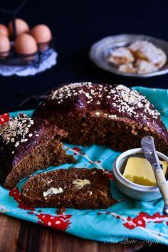 Dark Molasses Oatmeal Bread @ Not Quite Nigella