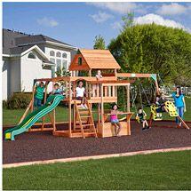 Walmart: Backyard Discovery Monticello Cedar Swing Set