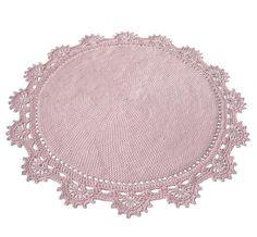 DYWAN  materiał: sznurek bawełniany gr. 5mm  kolor : pastelowy róż  wymiary: średnica ok. 145cm  technika wykonania: szydełko  DYWAN NA ZAMÓWIENIE, CZAS WYKONANIA 7-10 DNI