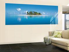 Island in the Sun Huge Wall Mural Art Print Poster Pinterest