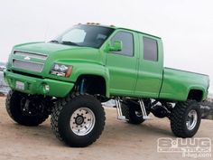 Chevy lifted truck