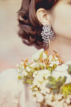 stunning earrings from Photography by Julie Pepin Photography / jewelry! Bridal Accessories, Wedding Jewelry, Wedding Photography Inspiration, Wedding Inspiration, Planners, Detroit Wedding, Delicate Jewelry, Gold Jewelry, Jewellery