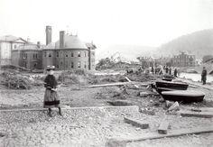 Devastation after the 1889 Johnstown Flood.