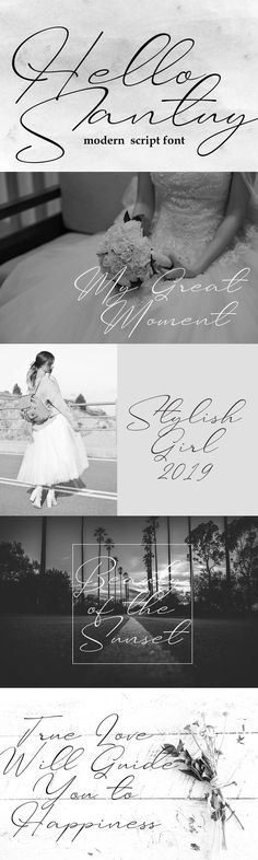 Hello Santuy is a beautiful script font. It has a classy, elegant, and modern look which can be used for logos, branding, invitations, stationary, wedding designs, social media posts, and every other design that needs a handwritten touch. - Our other products: - Amsterdam Font Collection : (Best Seller) - Holland Signature Font : (Best Seller) - We hope you enjoy this font. If you have any questions please don't hesitate to drop me a message :) Thank You, Lettersiro Signature Fonts, Script Fonts, Wedding Designs, Holland, Amsterdam, Stationary, One Shoulder Wedding Dress, Branding, Classy