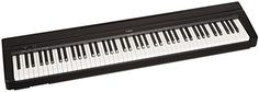 The Yamaha P71B is an Amazon-exclusive model designed to be the perfect home digital piano for rehearsing learning and creating. A full sized piano keyboard with fully-weighted keys and Yamaha premiu...