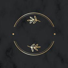 Round Logo Design, Circle Logo Design, Circle Logos, Badge Design, Flower Background Wallpaper, Logo Background, Floral Logo, Floral Design, Ideas Para Logos