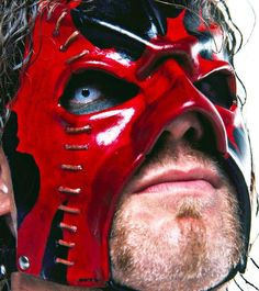 Get a whole new look at The Big Red Machine with this unique gallery of rare and never-before-seen photos of Kane. Kane Wrestler, Wwe Wrestlers, Wwe Mask, Kane Wwe, Ghost Face Mask, Army Of Two, Undertaker Wwe, Wrestling Stars, Vince Mcmahon