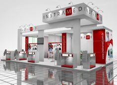 Exhibition Stand Design, Exhibitions, Mansions, House Styles, Home Decor, Island, Log Projects, Logos, Exhibition Booth Design