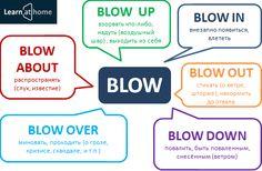 Phrasal verb BLOW #Phrasalverbs #Englishgrammar #фразовыеглаголы
