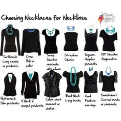 how to accessorize necklines 11 Necklines Styles You Must Know Spice Up your Fashion Sense Now! Looks Style, Looks Cool, Style Me, Look Fashion, Fashion Beauty, Womens Fashion, Fashion Tips, Fashion Hacks, Diy Fashion