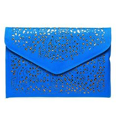New Trending Clutch Bags: Fashion Road Modern Womens Floral Pattern Cross Body Cut Out Slim Chain Statement Bags Cross Body Handbags Blue. Fashion Road Modern Womens Floral Pattern Cross Body Cut Out Slim Chain Statement Bags Cross Body Handbags Blue  Special Offer: $9.99  399 Reviews Features: 100% brand new and high quality Style: Stylish Material: Synthetic leather Size: 12.2*8.27*0.59 inch Weight: 250g (8.8oz) ...