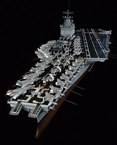 Nov. 4, 2012: USS Enterprise (CVN 65), the world's first nuclear-powered aircraft carrier, made its final homecoming to Norfolk, VA. The aircraft carrier is scheduled to be inactivated on December 1, 2012, after 51 years of service. This 11-foot, 1:100 scale model of the USS Enterprise is on display at the Museum in DC. Welcome home, Big E.