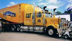 "Western Star,""PAE/CAT Motorsport Australia"", pinned by Ton van der Veer"
