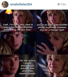 Smallville never fails to cheer me up