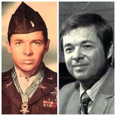 Audie Murphy-Army-WW2-wounded in action. Most decorated soldier ever. Congressional Medal of Honor (Actor)