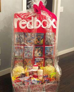 Themed Gift Baskets, Raffle Baskets, Diy Gift Baskets, Gift Basket Ideas, Birthday Gift Baskets, Game Basket, Gift Card Basket, Family Gift Baskets, Fundraiser Baskets