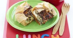 Frozen filo pastry is a great time saver and tastes delicious when baked with a spinach and creamy ricotta cheese filling. Cake Ingredients, Homemade Tacos, Homemade Taco Seasoning, Savoury Slice, Spinach Ricotta, Ricotta Pie, How To Grill Steak, Appetisers