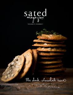 sated is a new independent publication dedicated to beautiful images and thoughtful writings about food.