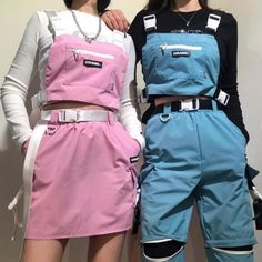 Find images and videos about girl, fashion and style on We Heart It - the app to get lost in what you love. Teen Fashion Outfits, Edgy Outfits, Korean Outfits, Retro Outfits, Mode Outfits, Cute Casual Outfits, Grunge Outfits, Vintage Outfits, Fashion Belts