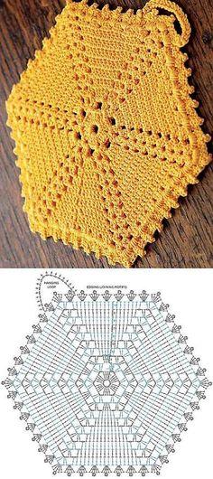 Most current Photographs Crochet coasters hexagon Suggestions Imagem relacionada – Crochet Hexagon Blanket, Crochet Potholders, Crochet Motifs, Crochet Flower Patterns, Crochet Diagram, Crochet Chart, Crochet Squares, Crochet Designs, Crochet Doilies