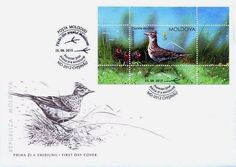 MOLDOVA First Day Cover Envelope (FDC), Birds, 2015