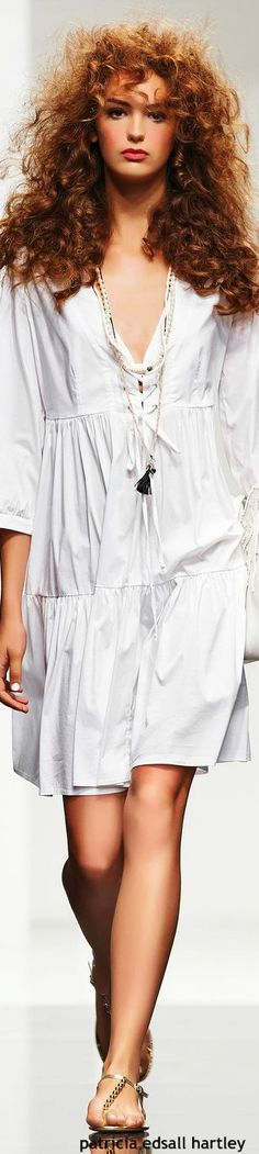 Twin-Set - SS 2015 women fashion outfit clothing style apparel @roressclothes closet ideas