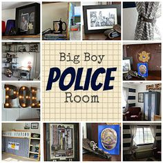Charmant Kutz, Paper, Scissors: Big Boy Police Room!