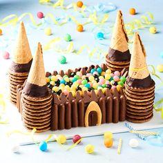Venez découvrir notre recette de gâteau chocolat château fort.