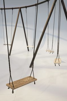 """""""swings"""" by Phillipe Malouin for Caesarstone at IDS Toronto 2015"""
