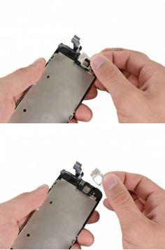 STAP 2. Verwijder de luidsprekerbeugel van het beeldscherm.