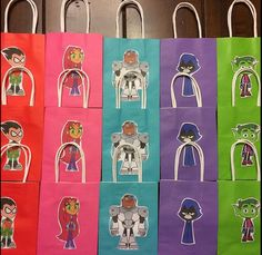 Teen Titans Go party gift bags                                                                                                                                                                                 More