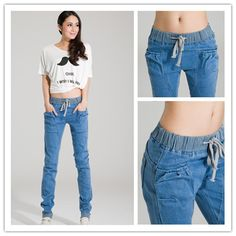 Image gallery – Page 5066618317422795 – Artofit Denim Crop Top, Denim Crafts, Low Rise Skinny Jeans, Striped Jeans, Fashion Advertising, Japanese Outfits, Clothing Hacks, Colored Denim, Fashion 2018