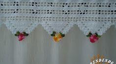cortinas crochet - YouTube