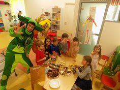 Фиксики на детском празднике. День рождения Стаса в анлийском детском саду Fly High #kvantil-event