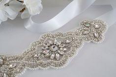 Wedding Belt, Bridal Belt, Sash Belt, Wedding Dress Sash, Bridesmaid Sash Belt - Style 169 by WestaireBridal on Etsy https://www.etsy.com/listing/215839021/wedding-belt-bridal-belt-sash-belt