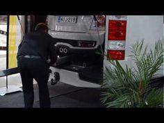 Cool RV garage for Mini! Matkailuauton talli, joka on mitoitettu Minille! Rv Garage, Caravan, Cool Stuff, Mini, Travel, Products, Viajes, Destinations, Traveling