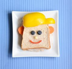 Food Art: Sandwiches For Dad -
