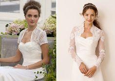 wedding dress bolero jacket - Google Search