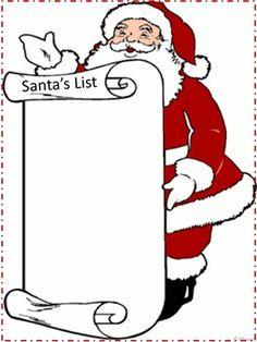Free! Christmas Santa's List