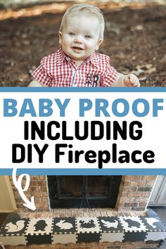 Baby Proof Fireplace, Fireplace Hearth, Busy Kids, Baby Gates, Childproofing, Everything Baby, Infant Activities, Falling Down, Business For Kids