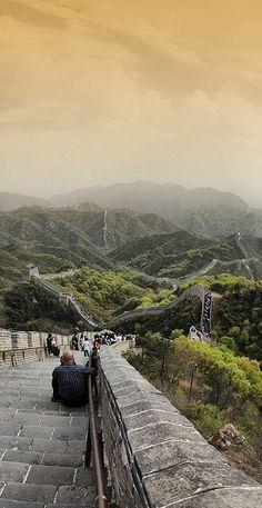 Grande Muralha, norte de Pequim, China.