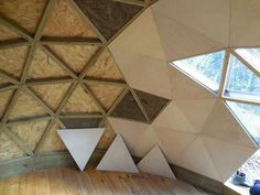 Cummins Architecture - Love Where You Live! Folding Architecture, Sustainable Architecture, Sauna Infravermelho, Dome Structure, Geodesic Dome Homes, Cool Tents, Dome Tent, Dome House, Earth Homes