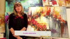 MONITOR | Gabriela Mensaque reliza un cuadro abstracto | Manos a la Obra