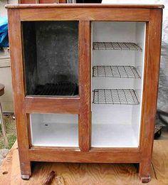 Vintage Ice Box Restoration by James D. Thompson